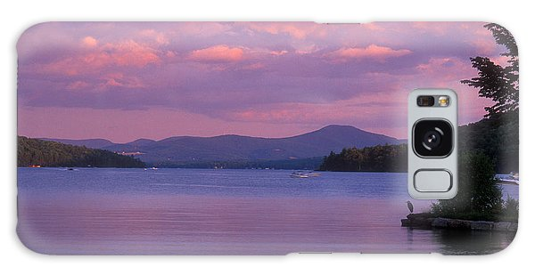 Lake Winnipesaukee Evening Galaxy Case by John Burk