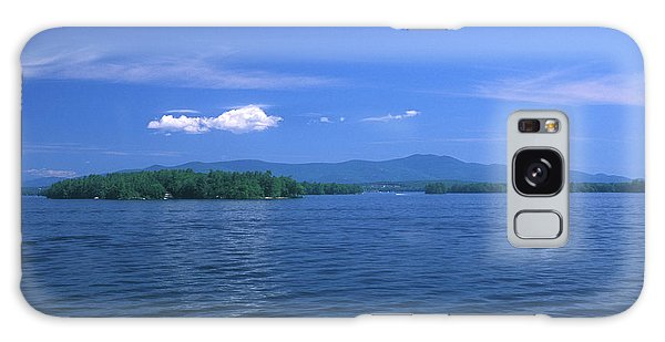Lake Winnipesaukee Summer Day Galaxy Case by John Burk