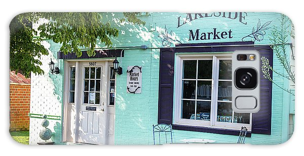 Galaxy Case featuring the photograph Lakeside Market by Doug Camara