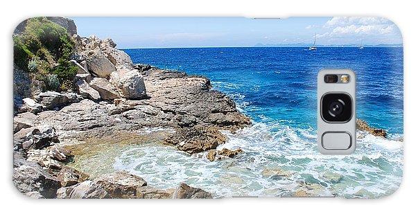 Lakka Coastline On Paxos Galaxy Case