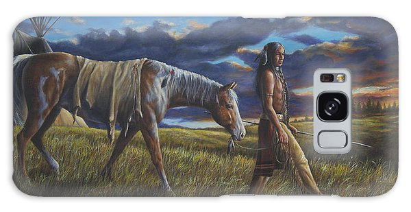 Lakota Sunrise Galaxy Case