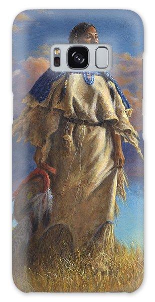 Lakota Woman Galaxy Case