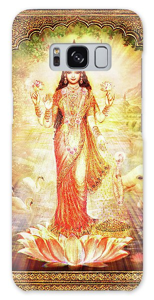 Lakshmi Goddess Of Fortune With Lighter Frame Galaxy Case