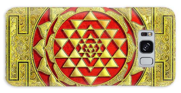 Lakshmi Kubera Yantra Galaxy Case by Ragunath Venkatraman