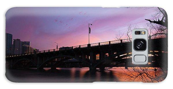 Lamar Blvd Bridge Galaxy Case