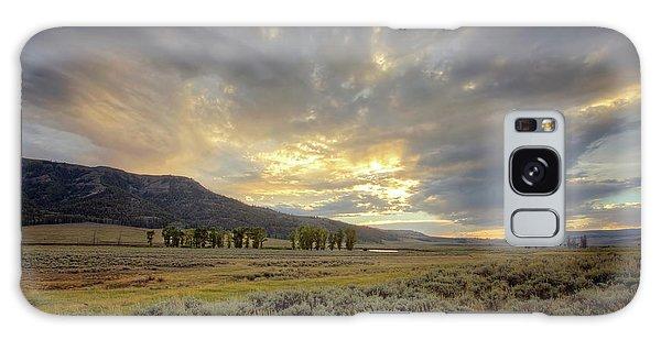 Lamar Valley Sunset Galaxy Case