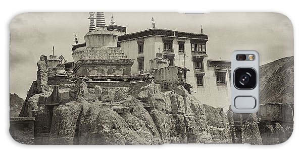 Lamayuru Monastery Galaxy Case by Hitendra SINKAR