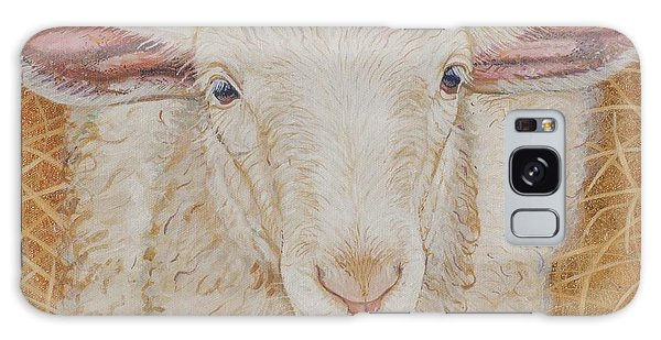 Sheep Galaxy S8 Case - Lamb Of God by Christine Belt