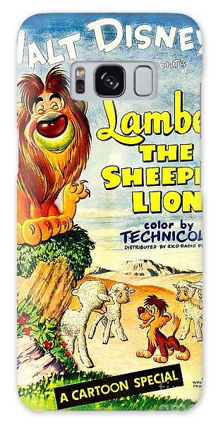 Walt Disney Galaxy Case - Lambert The Sheepish Lion, 1952 Walt Disney Cartoon by Zal Latzkovich