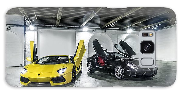 Lamborghini Aventador And Mercedes Slr Galaxy Case