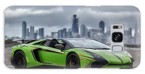 Galaxy Case featuring the photograph #lamborghini #aventadorsv #superveloce #roadster #print by ItzKirb Photography