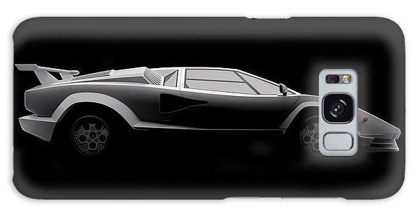 Lamborghini Countach 5000 Qv 25th Anniversary - Side View Galaxy Case