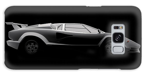 Lamborghini Countach 5000 Qv 25th Anniversary - Side View Galaxy Case