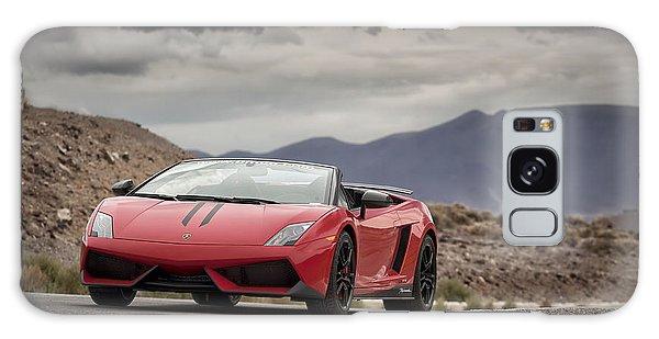 Galaxy Case featuring the photograph Lamborghini Gallardo Lp570-4 Spyder Performante by ItzKirb Photography