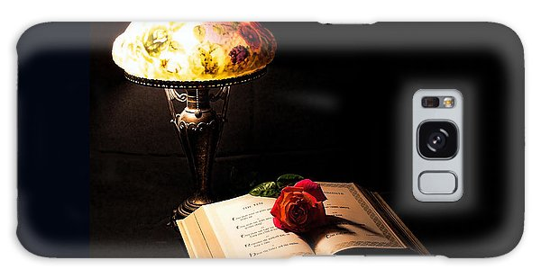 Lamp Bible And Rose Galaxy Case