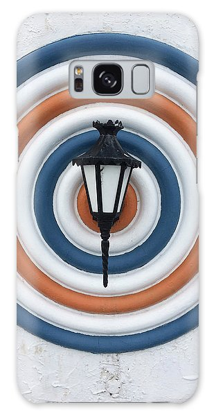Galaxy Case featuring the photograph Lamp Hits The Bullseye by Matthew Wolf