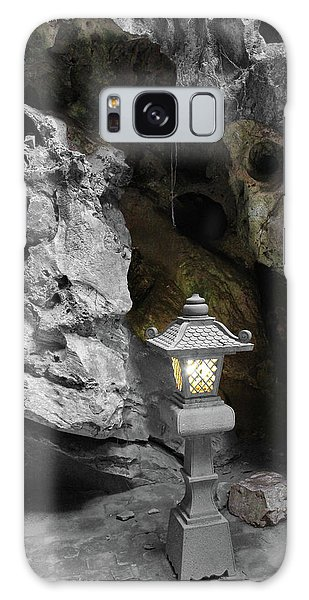 Lamp In Marble Mountain Galaxy Case