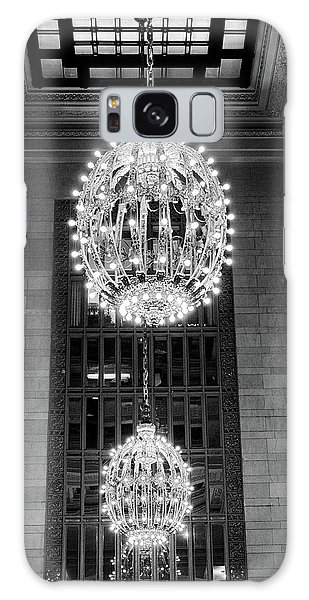 Galaxy Case featuring the photograph Lamps In Grand Central Station by Lora Lee Chapman