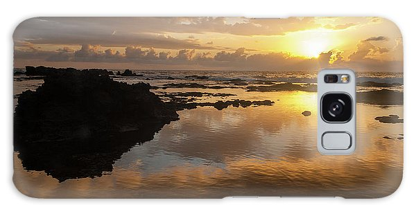 Lanai Sunset #1 Galaxy Case