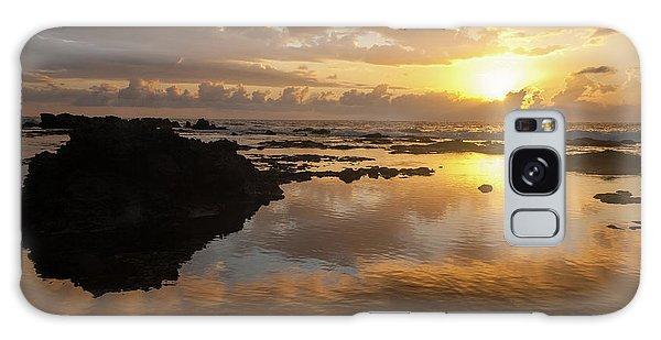 Lanai Sunset #1 Galaxy Case