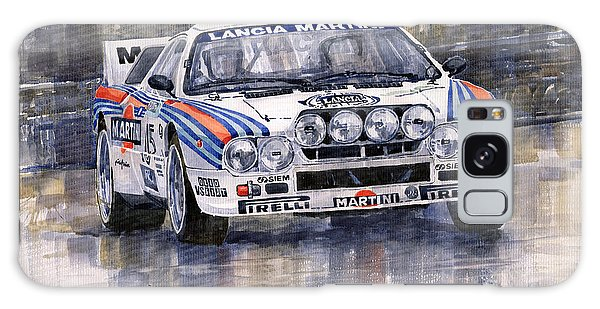 Car Galaxy S8 Case - Lancia 037 Martini Rally 1983 by Yuriy Shevchuk