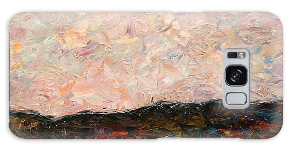 Impressionism Galaxy Case - Land And Sky by James W Johnson