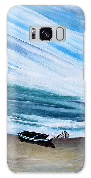Land Meets Sky Galaxy Case by Marilyn  McNish