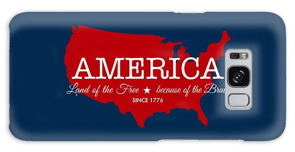 Patriotic Galaxy Case - Land Of The Free by Nancy Ingersoll
