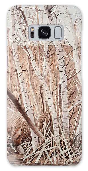 Land Of The Silver Birch Galaxy Case