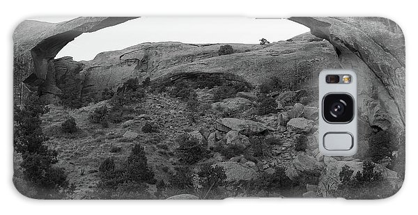 Landscape Arch Galaxy Case