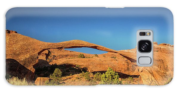 Landscape Arch Sunrise Galaxy Case