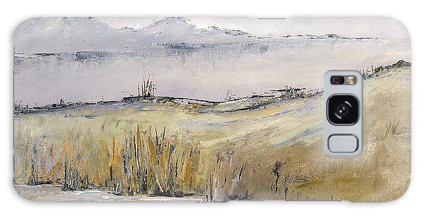 Landscape In Gray Galaxy Case by Carolyn Doe
