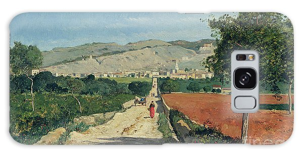 Hills Galaxy Case - Landscape In Provence by Paul Camille Guigou