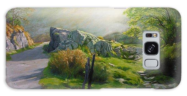 Landscape In Wales Galaxy Case