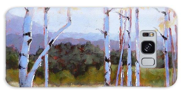 Landscape Series 2 Galaxy Case by Laura Lee Zanghetti