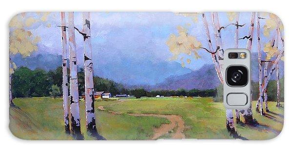 Landscape Series 4 Galaxy Case by Laura Lee Zanghetti