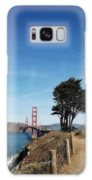 Landscape With Golden Gate Bridge Galaxy Case