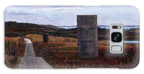 Landscape With Silos Galaxy Case