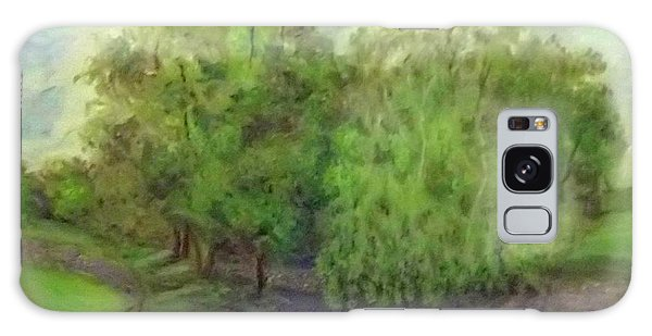 Landscape With Trees Galaxy Case