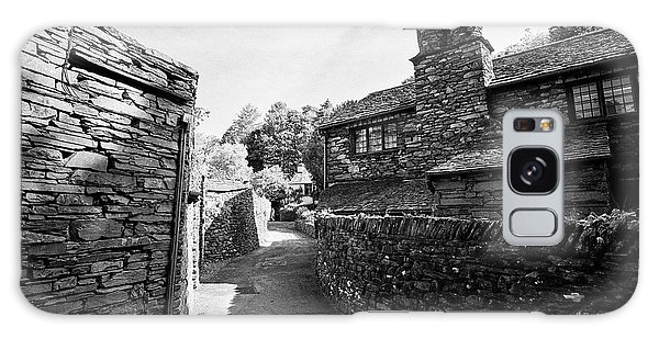 Grasmere Galaxy Case - Lane Through Traditional Lake Stone Slate Built Cottages In The Hamlet Of Town End Near Grasmere Lak by Joe Fox