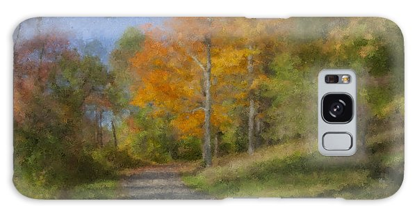 Langwater Path In October Galaxy Case