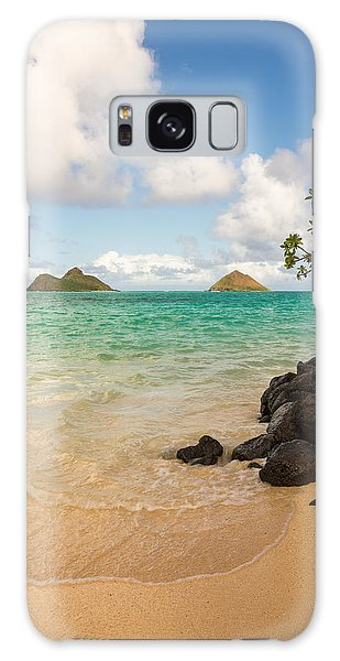 Horizontal Galaxy Case - Lanikai Beach 1 - Oahu Hawaii by Brian Harig