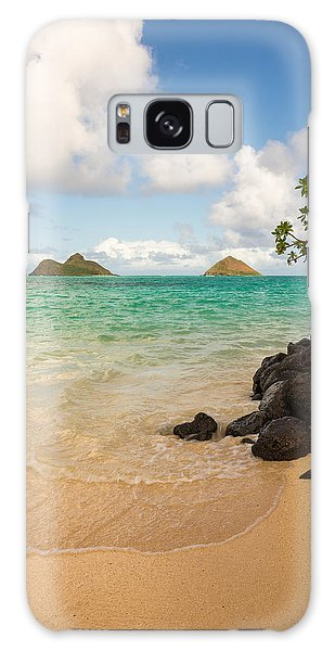 Lanikai Beach 1 - Oahu Hawaii Galaxy Case