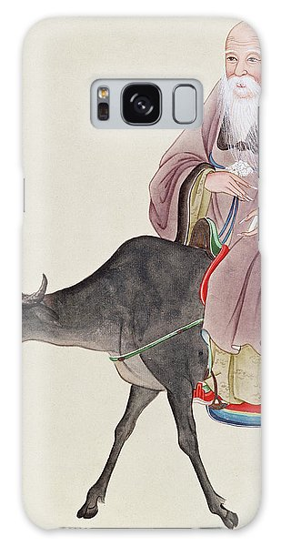 Philosopher Galaxy Case - Lao Tzu On His Buffalo by Chinese School