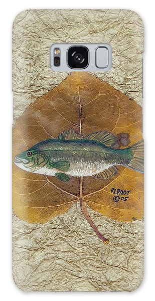 Large Mouth Bass #3 Galaxy Case by Ralph Root