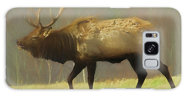 Large Pennsylvania Bull Elk. Galaxy Case