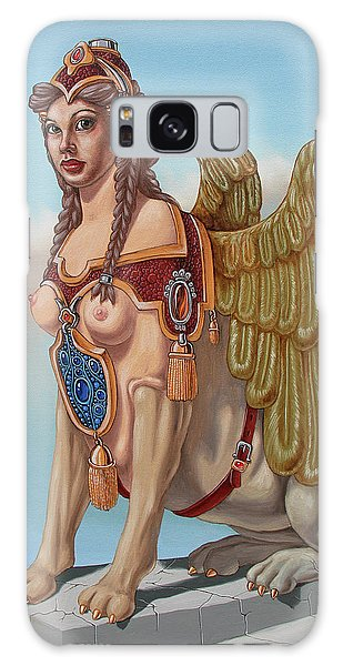 Large Sphinx Of The Vienna Belvedere Galaxy Case