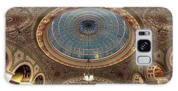 Cultural Center Galaxy Case - Largest Tiffany Glass Dome - Chicago by Daniel Hagerman