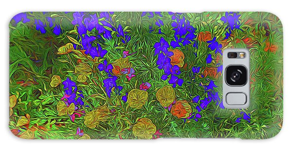 Larkspur And Primrose Garden 12018-3 Galaxy Case