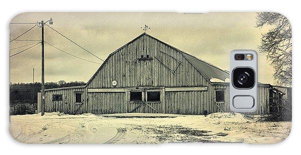 Larsen Road Barn Galaxy Case